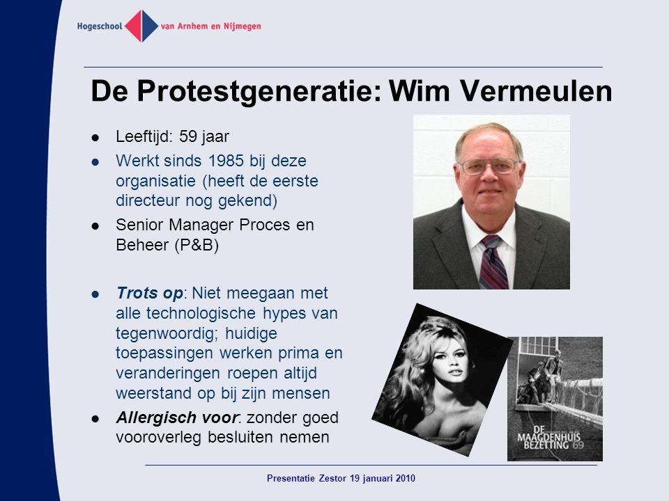 De Protestgeneratie: Wim Vermeulen