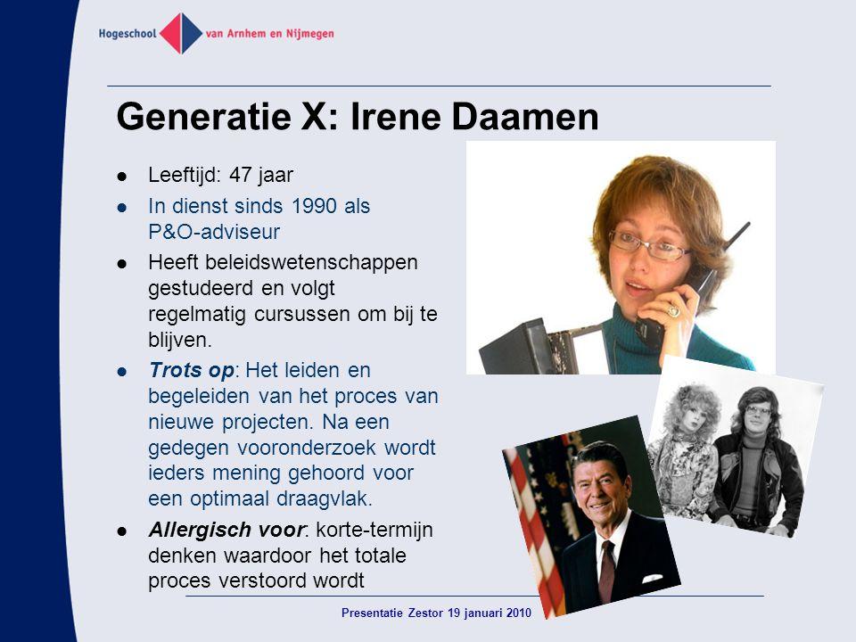 Generatie X: Irene Daamen