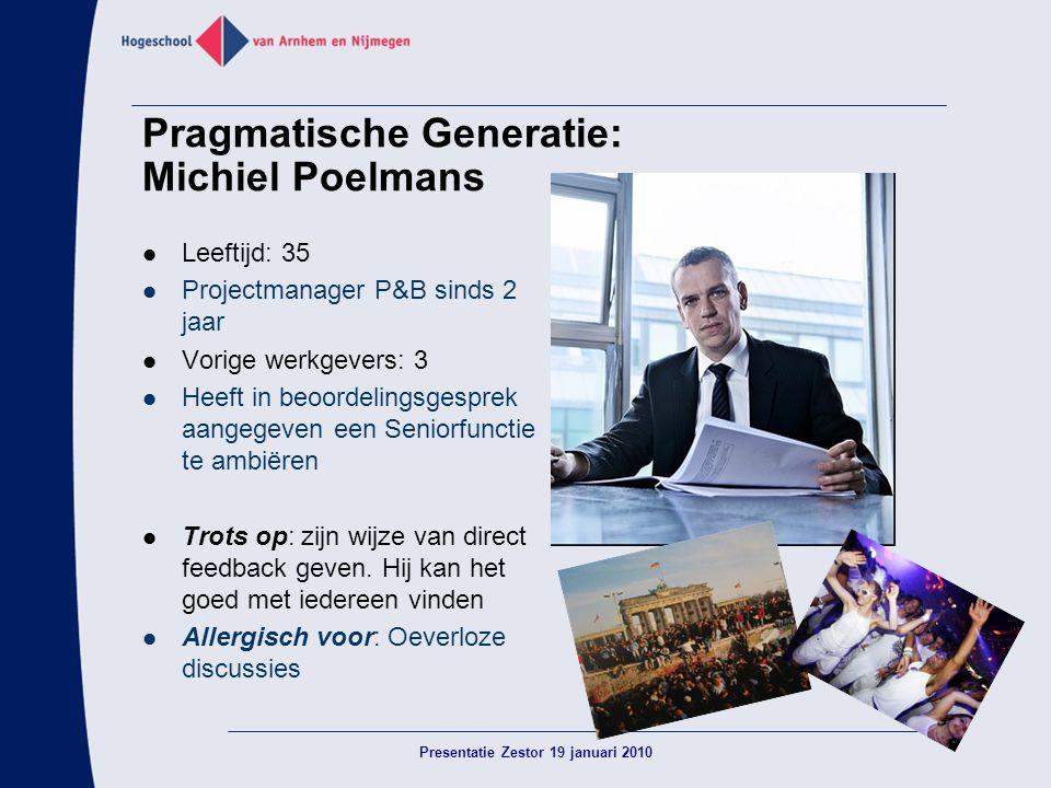 Pragmatische Generatie: Michiel Poelmans