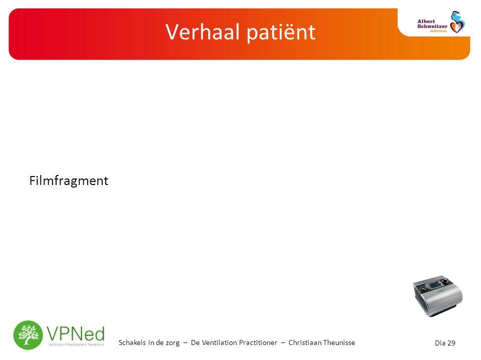 Doelgroep NIB Patiënten met zeer ernstig COPD die bekend zijn in het longtransplantatietraject;