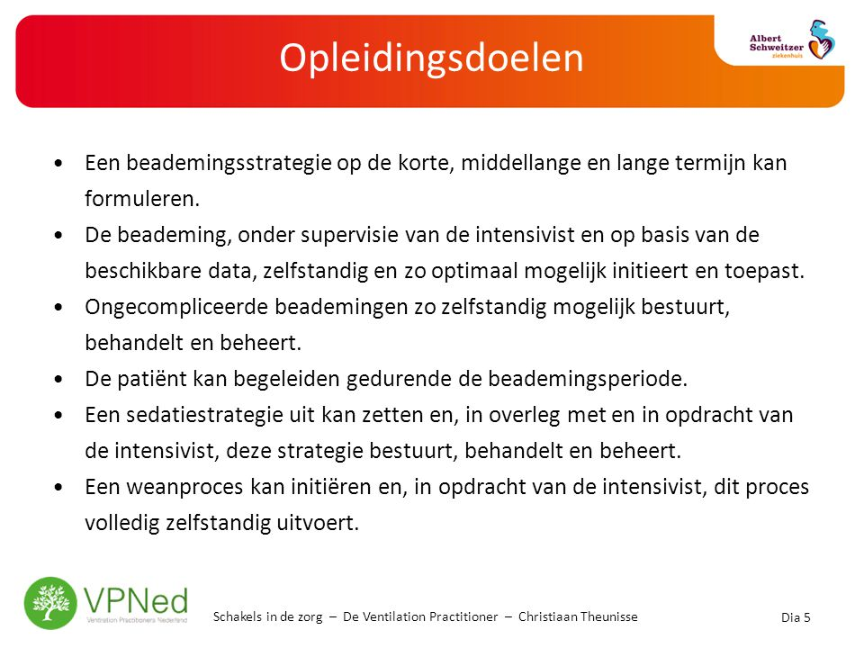 De VP-opleiding In Ridderkerk bij Care Training Group 14 maanden