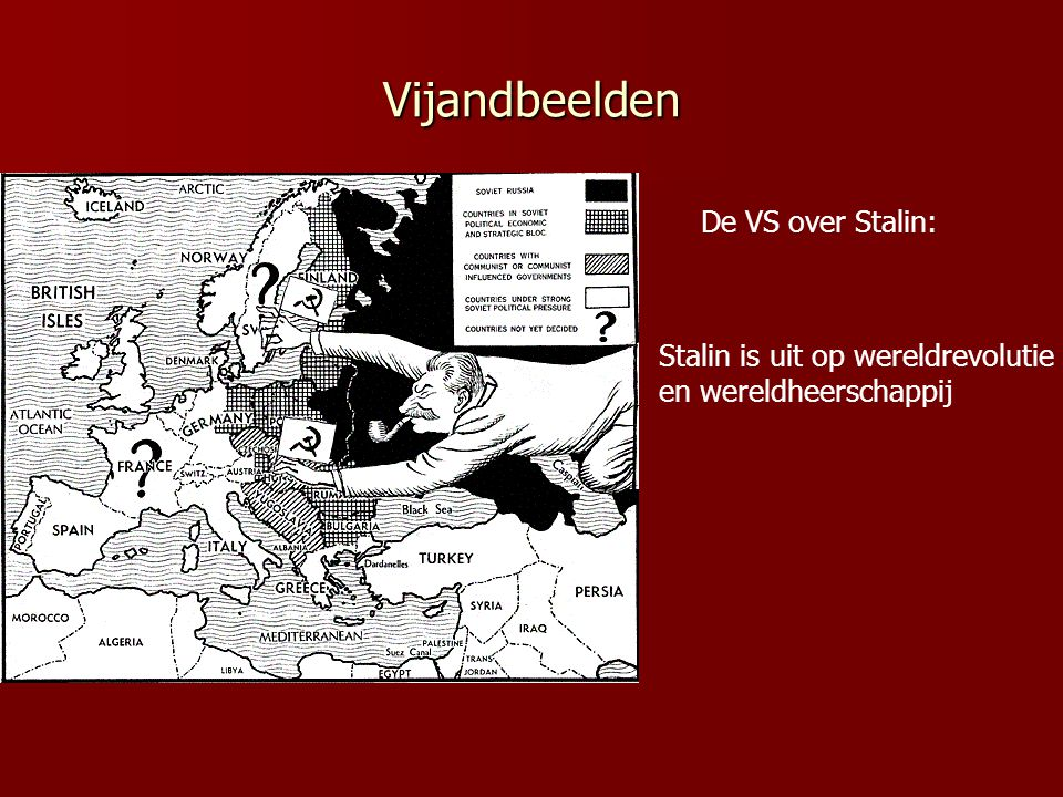 Vijandbeelden De VS over Stalin: