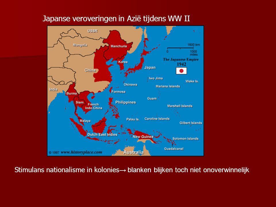 Japanse veroveringen in Azië tijdens WW II