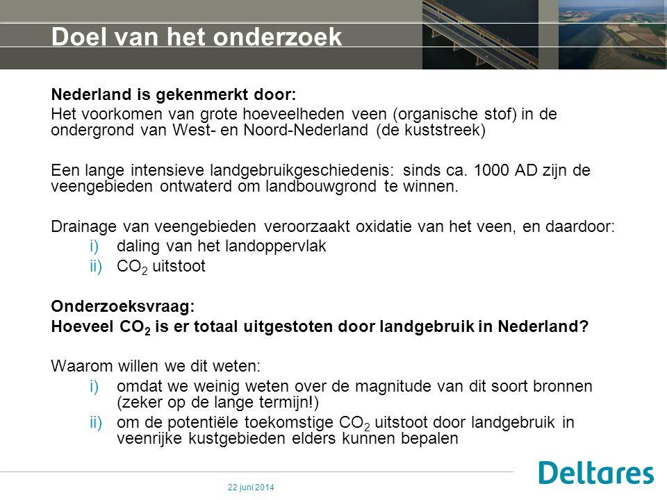 Doel van het onderzoek Nederland is gekenmerkt door: