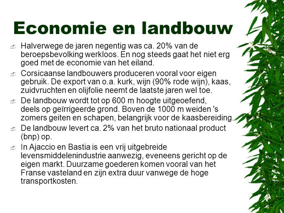 Economie en landbouw