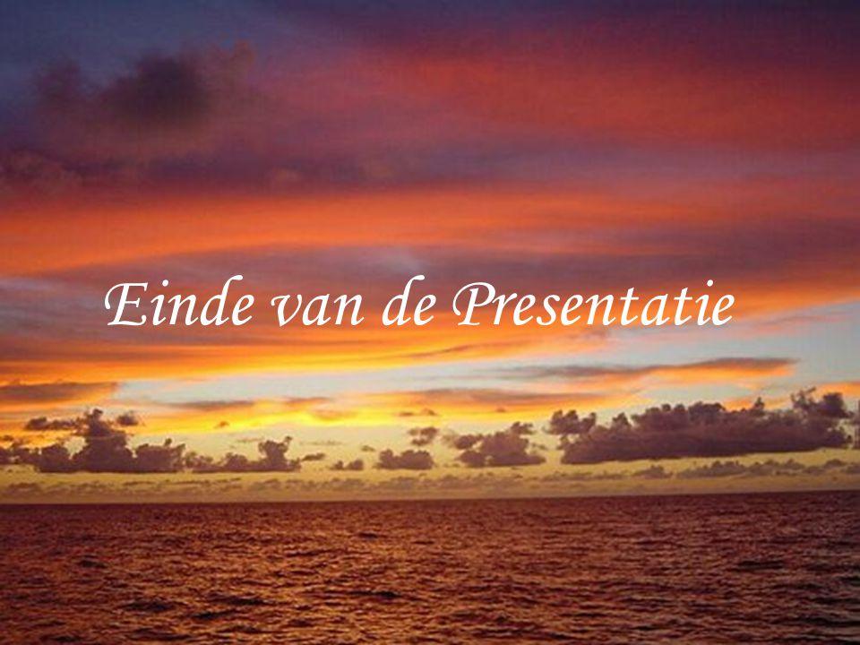Einde van de Presentatie