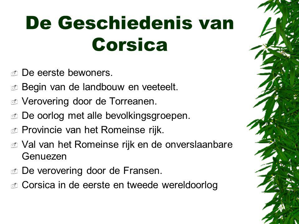 De Geschiedenis van Corsica