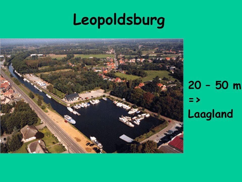 Leopoldsburg 20 – 50 m => Laagland