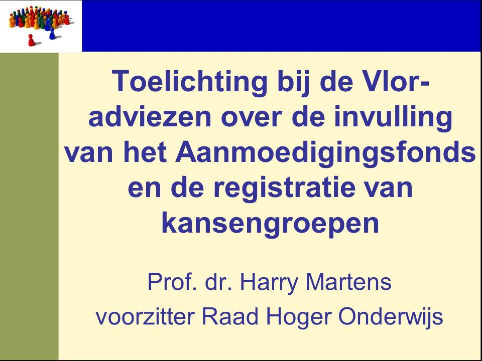 Prof. dr. Harry Martens voorzitter Raad Hoger Onderwijs