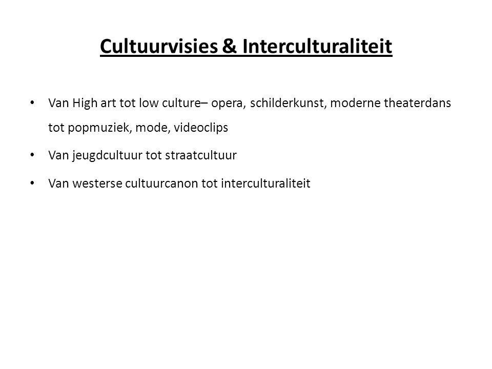 Cultuurvisies & Interculturaliteit