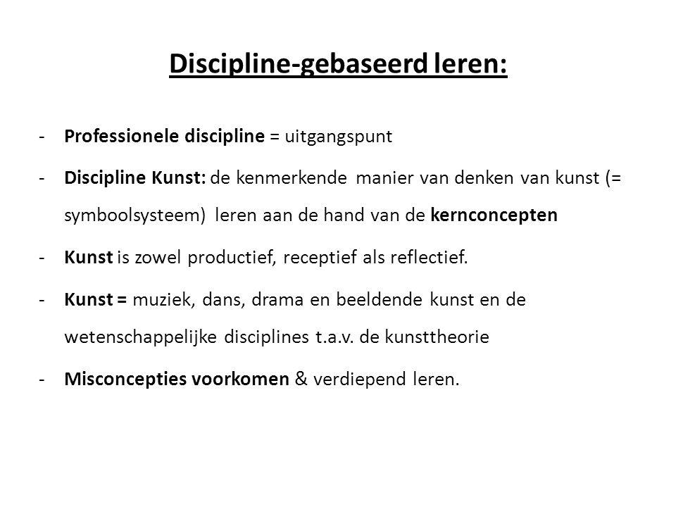 Discipline-gebaseerd leren:
