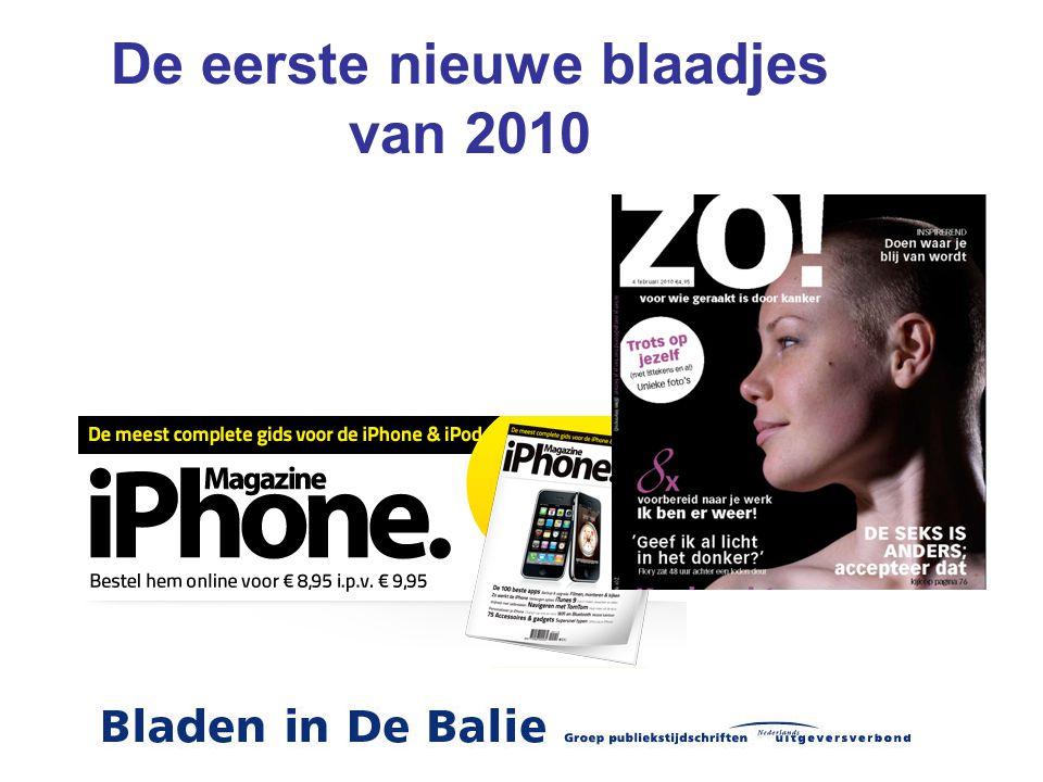 De eerste nieuwe blaadjes van 2010