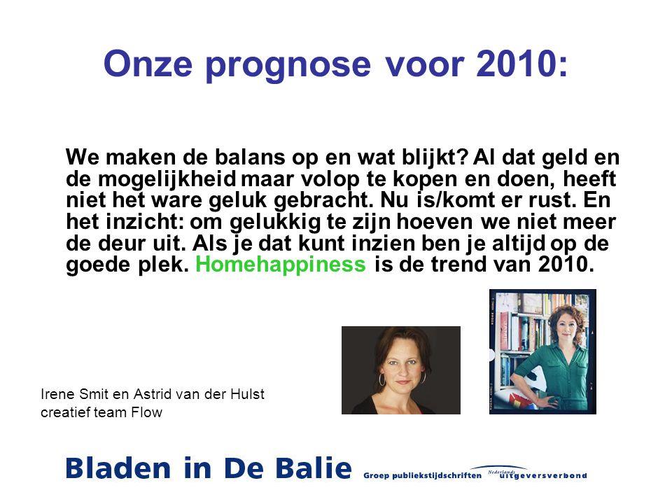 Onze prognose voor 2010:
