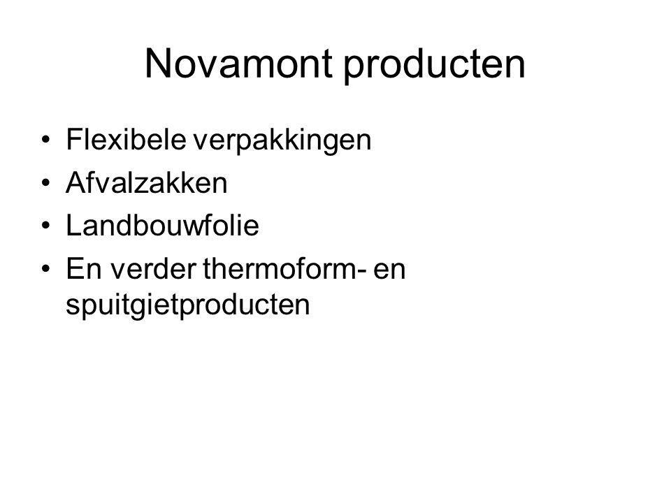Novamont producten Flexibele verpakkingen Afvalzakken Landbouwfolie