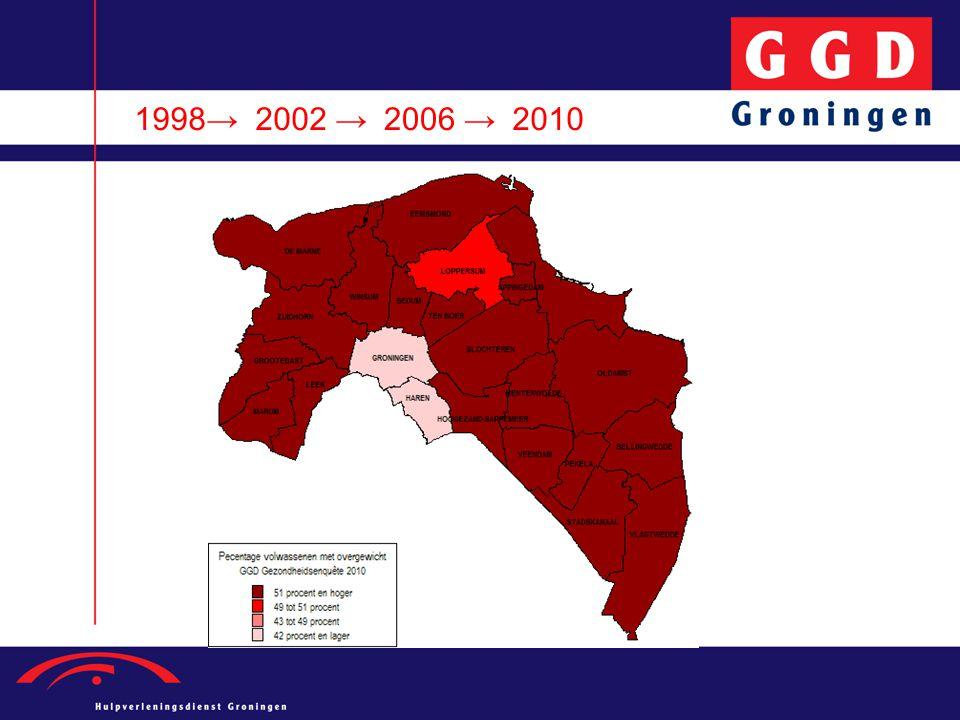 1998→ 2002 → 2006 → 2010.