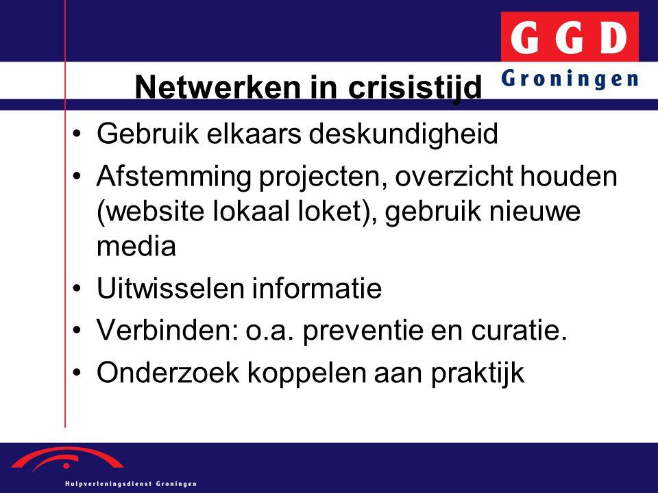 Netwerken in crisistijd