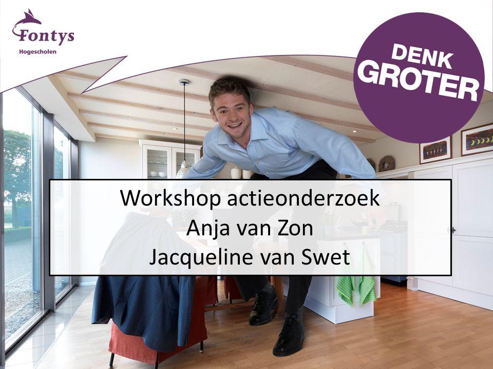 Workshop actieonderzoek