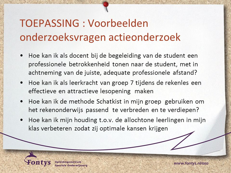 Workshop actieonderzoek ppt video online download - Hoe de studio te verbeteren ...