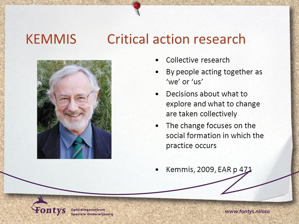 KEMMIS Critical action research