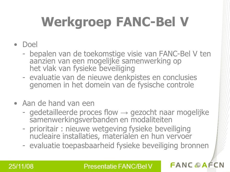 Werkgroep FANC-Bel V Doel