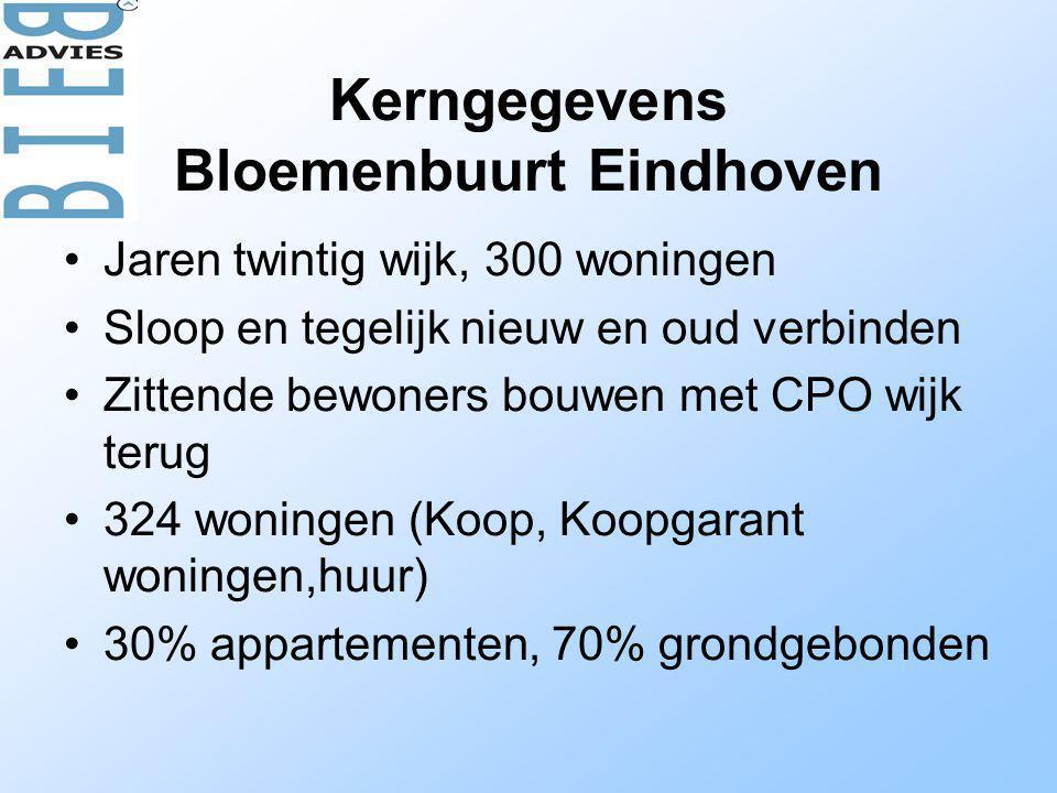Kerngegevens Bloemenbuurt Eindhoven