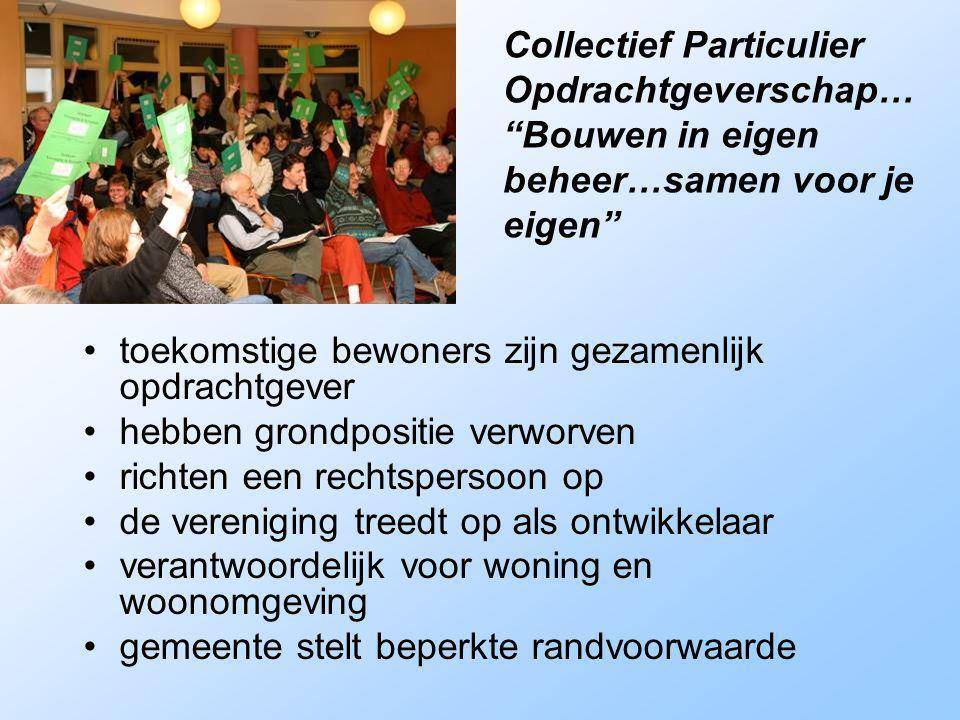 Collectief Particulier Opdrachtgeverschap…