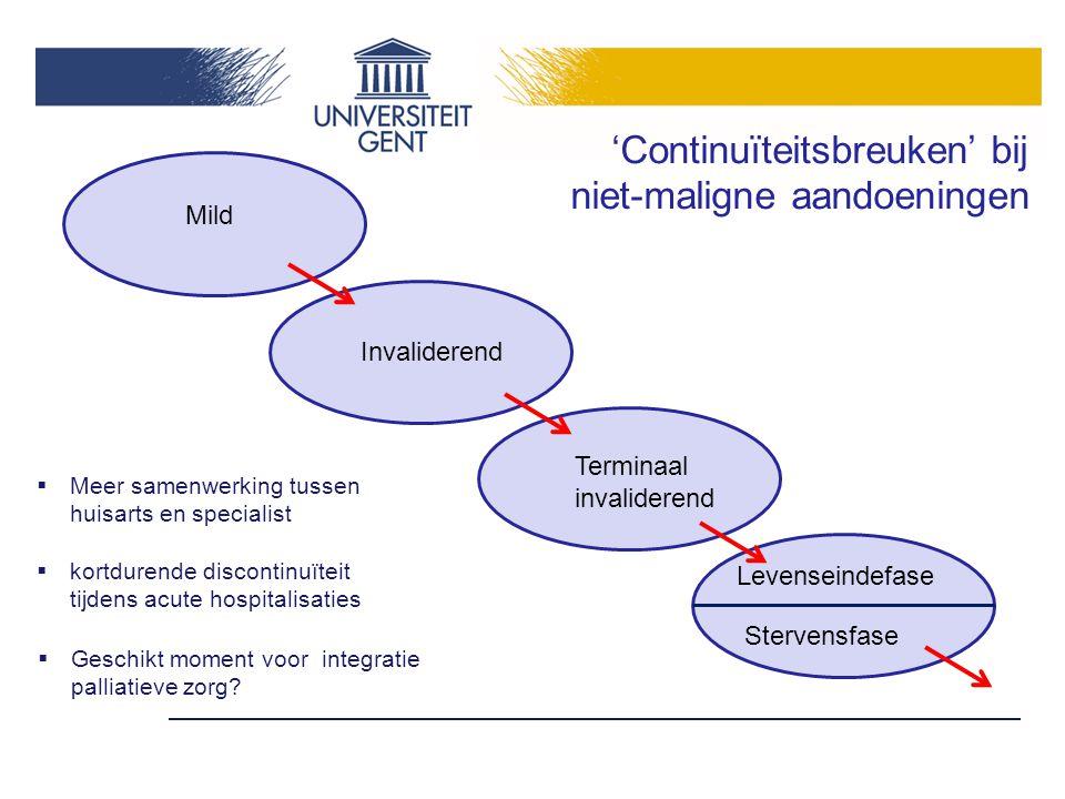 'Continuïteitsbreuken' bij niet-maligne aandoeningen