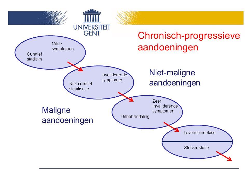Chronisch-progressieve aandoeningen
