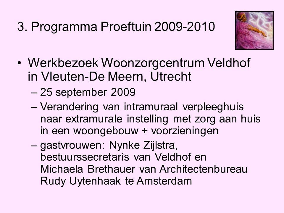 Werkbezoek Woonzorgcentrum Veldhof in Vleuten-De Meern, Utrecht