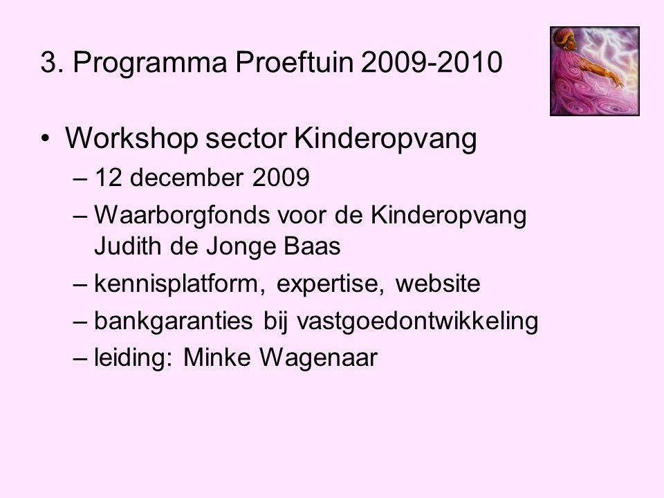 Workshop sector Kinderopvang