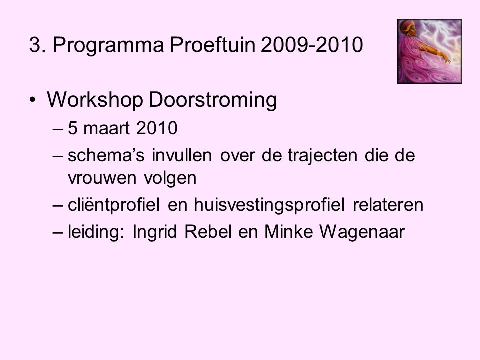 Workshop Doorstroming