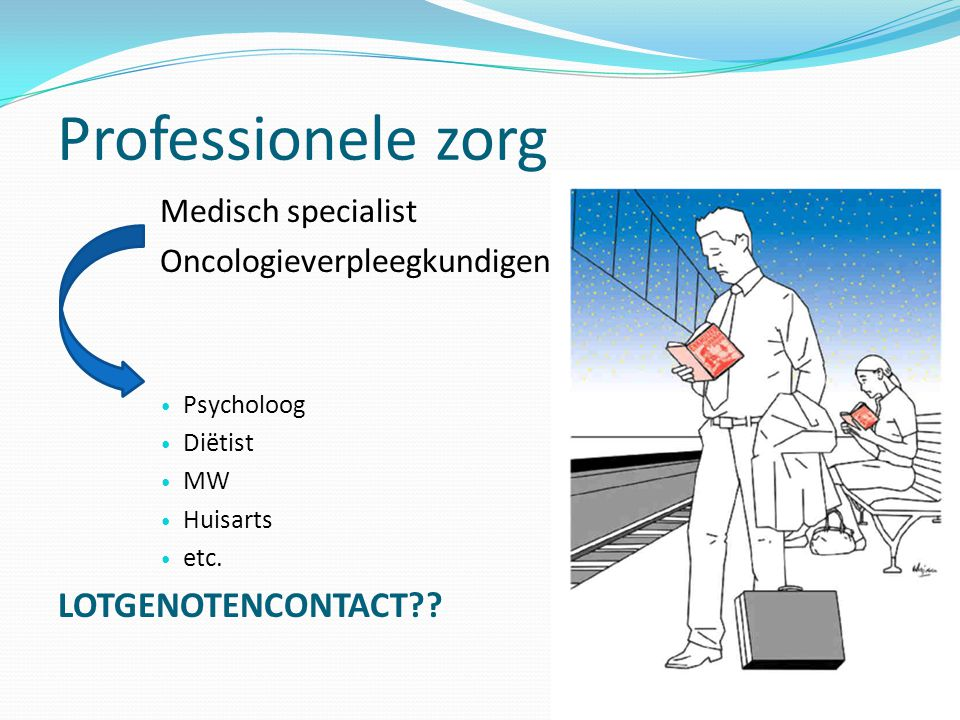 Professionele zorg LOTGENOTENCONTACT Medisch specialist