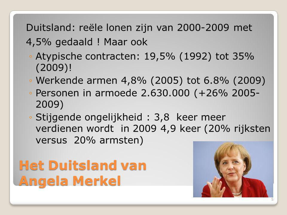 Het Duitsland van Angela Merkel