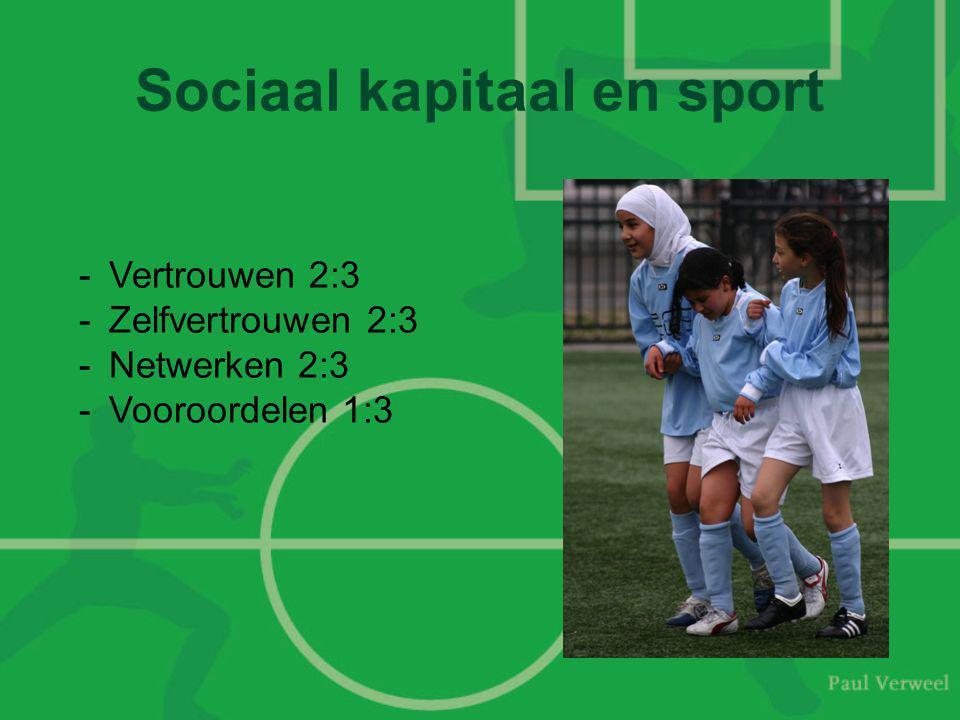 Sociaal kapitaal en sport
