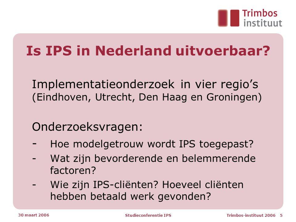 Is IPS in Nederland uitvoerbaar