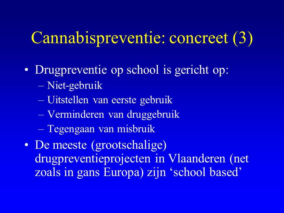 Cannabispreventie: concreet (3)