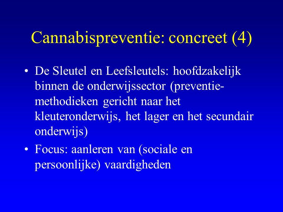 Cannabispreventie: concreet (4)