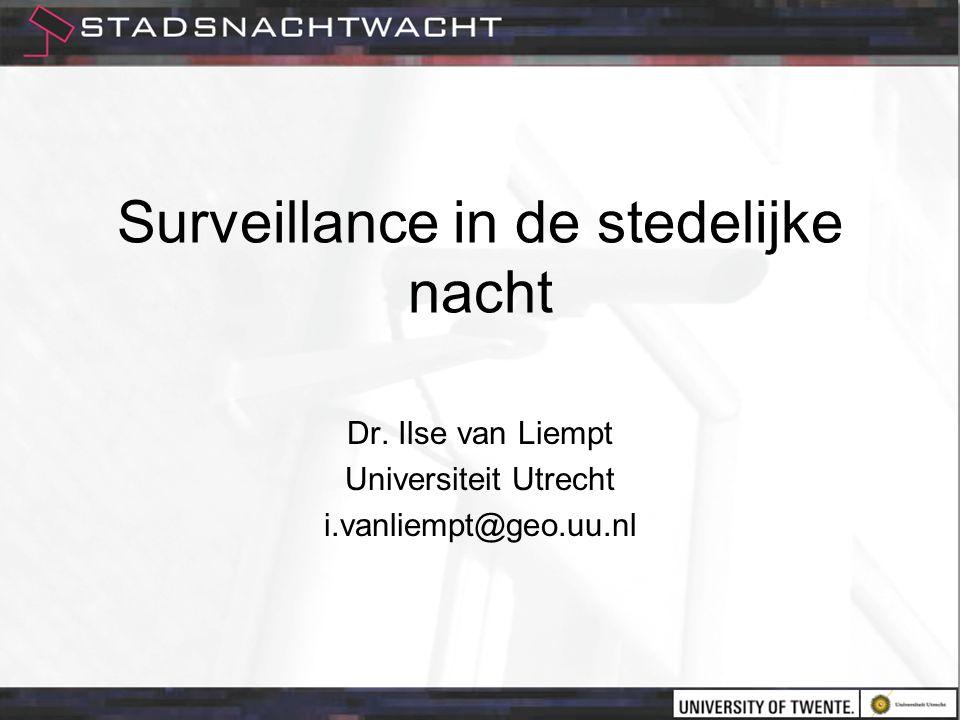 Surveillance in de stedelijke nacht