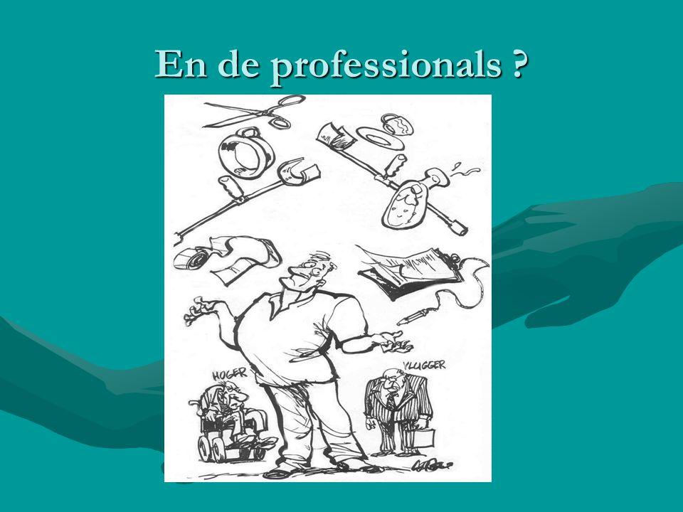 En de professionals
