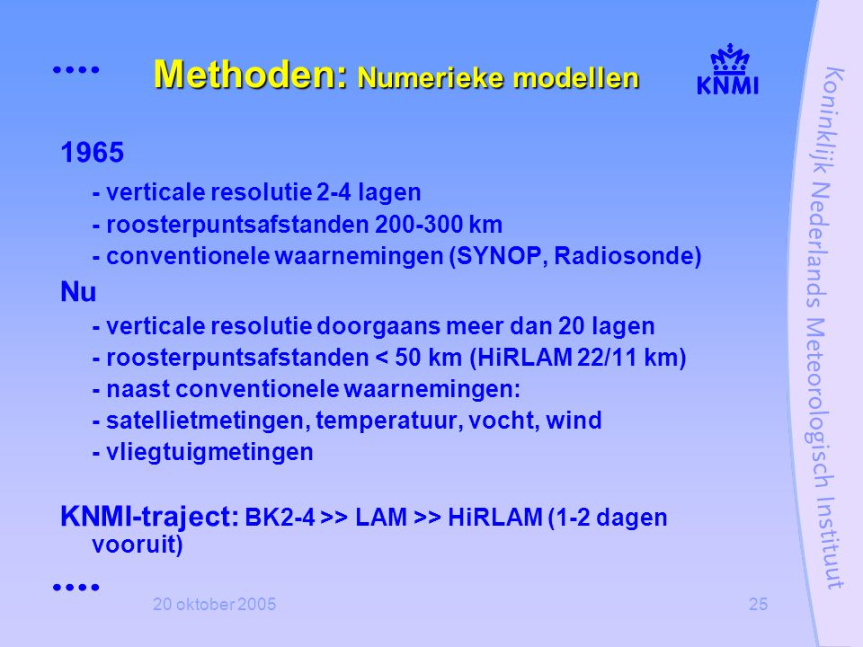 Methoden: Numerieke modellen