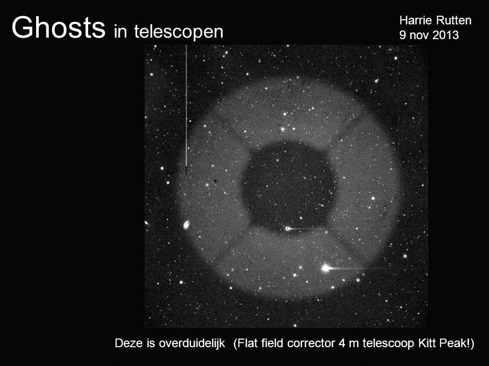 Deze is overduidelijk (Flat field corrector 4 m telescoop Kitt Peak!)