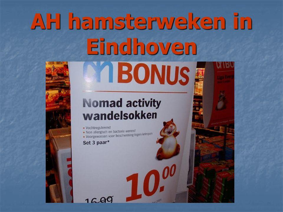 AH hamsterweken in Eindhoven