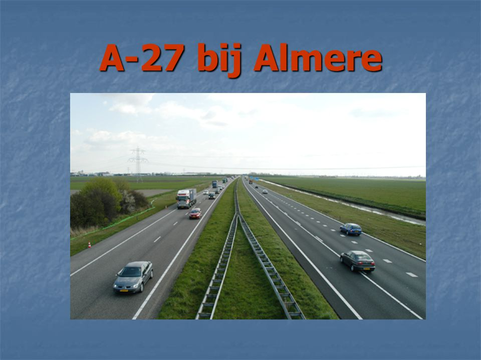 A-27 bij Almere