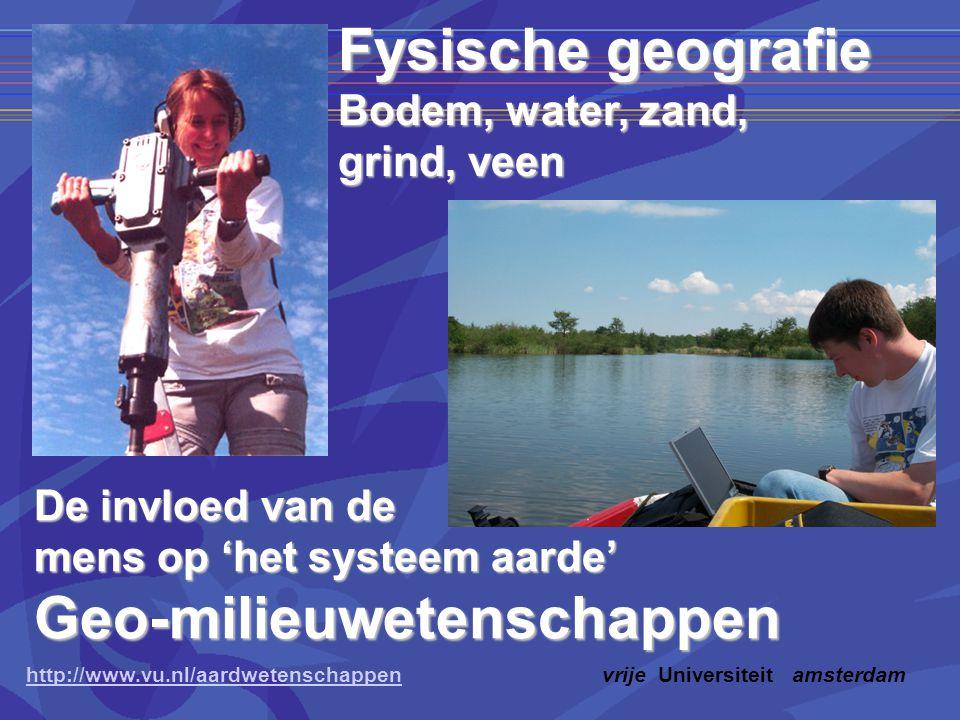Geo-milieuwetenschappen