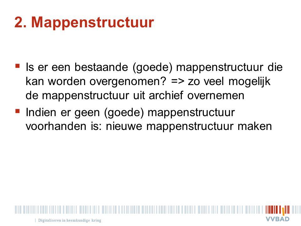 2. Mappenstructuur
