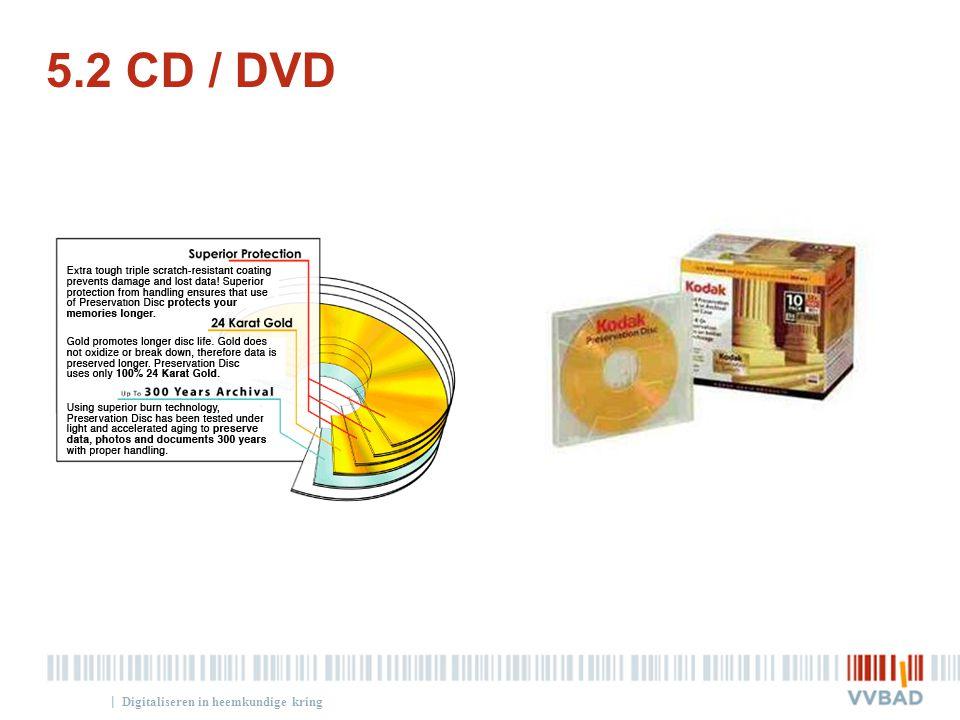 5.2 CD / DVD Digitaliseren in heemkundige kring