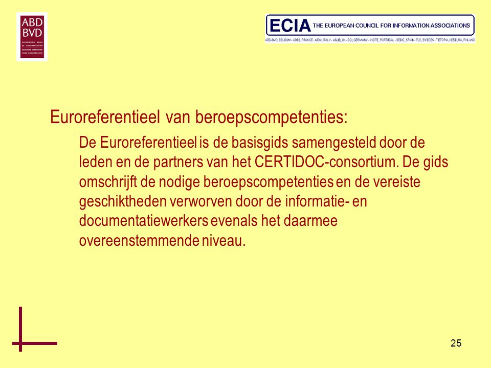 Euroreferentieel van beroepscompetenties: