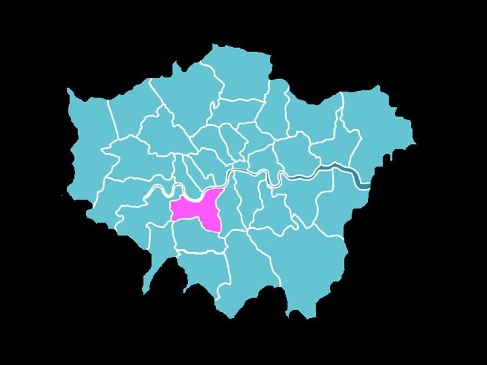 Wandsworth ongeveer 280.000 inwoners / Engeland heeft geen burgelijke stand
