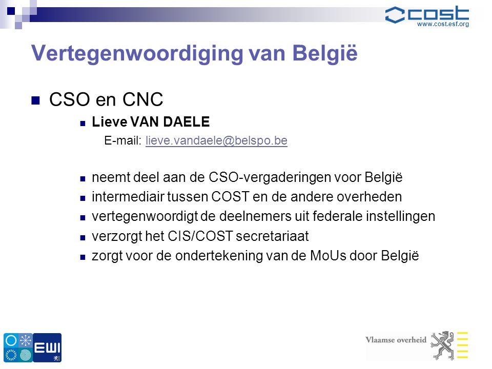 Vertegenwoordiging van België