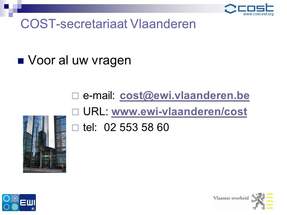 COST-secretariaat Vlaanderen